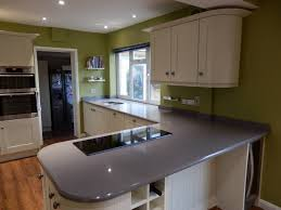 grey kitchen worktops installed in west sus