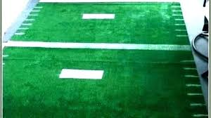 football field rug area nary rugs design inspirations shaped themed vs rugby home prismatic college