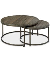 round nesting tables bronze side table pedestal west elm dining coffee marble and gold target nested wes furniture ikea white wood square glass black