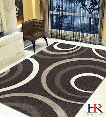 modern circles waves surfs pattern contemporary area rug hand carved red white black circle rugs with