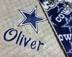 Dallas cowboys baby | Etsy & Personalized Minky and Fleece Dallas Cowboys Baby Blanket with star  applique, You choose colors. Adamdwight.com