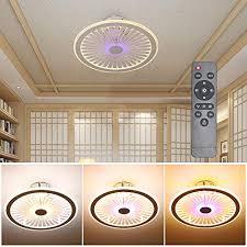 xiyun ceiling light with fan remote