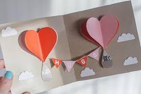 diy unique valentine day pop up card