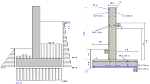 basement wall design. Retaining Wall Modeling6 Basement Wall Design