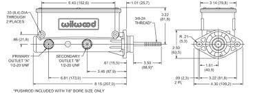 master cylinder diagram: