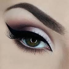 silver to black eye makeup