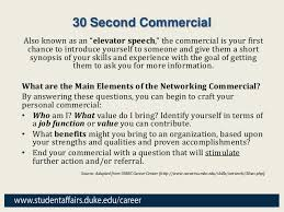 30 Sec Elevator Speech How To Write A 30 Second Infomercial Speech