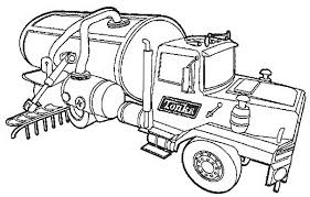 Small Picture Fresh Water Semi Truck Coloring Page Download Print Online