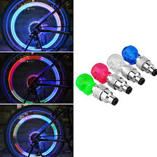 Bike Tire Lights Us 1 43 Led Bike Light 1 Cool Bicycle Lights Install At Bike Or Bicycle Tire Valves Bike Accessories Led Bycicle Light In Bicycle Light From Sports