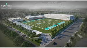Miami Dolphins Break Ground On 135 Million Training Complex