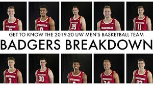 Get To Know The Players On Wisconsin Badgers 2019 20 Mens