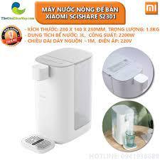 Máy nước nóng để bàn 3L Xiaomi Scishare S2301 - Bảo hành 1 tháng - Shop Thế  Giới Điện Máy chính hãng