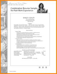 7 Work Experience Resume Examples Job Apply Form
