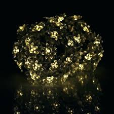 solar globe lights garden string lights outdoor solar holiday lighting solar powered outdoor lotus flowers string