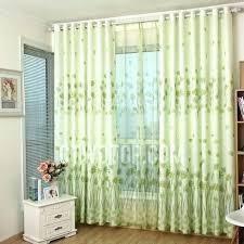lime green curtains for bedroom