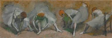 edgar degas frieze of rs oil on canvas circa 1895 cleveland