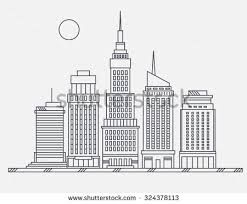 architectural drawings of skyscrapers. Interesting Skyscrapers Business Center Of Big City Street Skyscrapers Megapolis Buildings Concept  Real Estate Architecture Commercial Building Inside Architectural Drawings Of Skyscrapers E