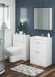 gloss gloss modular bathroom furniture collection. The Drift Modular Basin Unit Has An Integrated Metal Handle With A Smooth, Curved Shape. Soft-close Hinges Allow Drawers To Open And Close In Gloss Bathroom Furniture Collection
