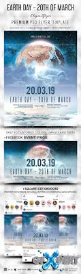 Free Earth Day V1 2019 20th Of March Psd Flyer Template