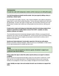 Examples Of Rhetorical Analysis Essays