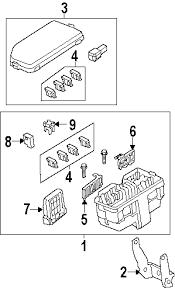 parts com® honda fuse multi block partnumber 38232tr0a01 2013 honda cr v ex l l4 2 4 liter gas fuse