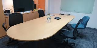 Clearance Shifting Office Used Conference Table