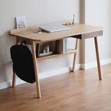 brilliant simple desks. Brilliant Simple Wood Desks On And Modern Desk With Drawers Computer Iron Retro B