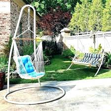 outdoor swing with stand swings for backyard hammock outdoor swing stand with frame hanging chair sets duncombe egg shaped outdoor swing chair with stand