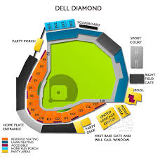 Dell Diamond Stadium Seating Chart The Dell Seating Chart Related Keywords Suggestions The