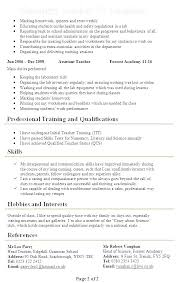 Teacher Resume Objective Examples Stunning Teacher Assistant Sample Resume Teaching Level 48 Kindergarten