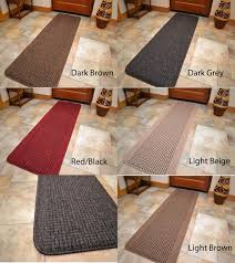 Decorative Kitchen Rugs Long Short Small Door Mats Light Dark Kitchen Floor Rugs Hall