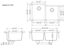 Toilet Ideas Standard Kitchen Sink Depth Awesome Drain Hole Size Design  From Average