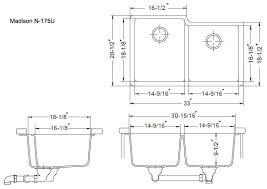 average sink size. Delighful Average Standard Kitchen Sink Depth Awesome Drain Hole Size Design  From Average Inside I