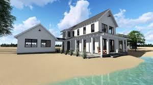 29414 canton modern farmhouse cabin house plan by