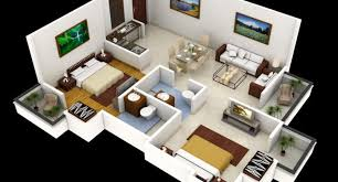 3d house plan indian style home design plans indian style 3d