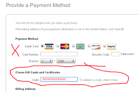 Free Itunes And Certificate Card Gift Codes