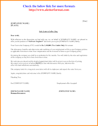 6 Appointment Letter Format For Job Action Plan Template