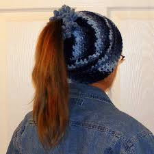 Free Crochet Hat Pattern With Ponytail Hole Cool Ponytail Hats For Your Ponytail CROCHET