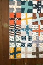 10 best Cross or stripe blocks in quilts images on Pinterest ... & Happy Camper Wonky Cross Quilt | Craftsy Adamdwight.com