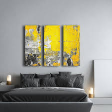 yellow and grey wall art uk a wall decal