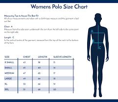Womens Polo Shirt Size Chart Arts Arts