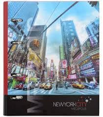<b>Тетрадь</b> на кольцах полускрытых Нью-Йорк <b>Action</b>   Нью-йорк ...