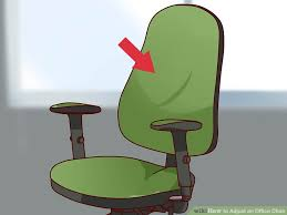 Office chair wiki Fiberglass Armchair Image Titled Adjust An Office Chair Step 14 Wikihow How To Adjust An Office Chair with Pictures Wikihow