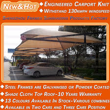 Shade Sail Colour Chart Hot Item 10 Years Warranty Shade Cloth Roof 13 Colour Available Carport