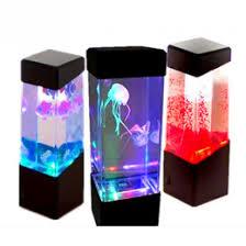 relaxing lighting. Wholesale- Bedside Table Motion Lamp Jellyfish Aquarium LED Relaxing Desk Night Light No Batteries Lighting E