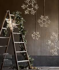 Restoration Hardware Christmas Lights Restoration Hardware Garland And Lights On Old Wooden