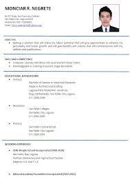 Resume Model Format Cool Resume Sample Format Samples Trend Doc Functional Yet Linkgroups