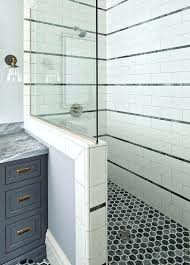 half wall shower without door panels reviews