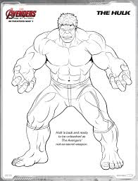 Avengers Age Of Ultron Free Printable Coloring Pages Ideas For The