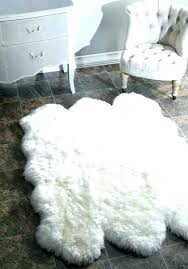 guaranteed fake sheepskin rug black faux ikea fur apptivities co